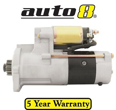 Brand New Starter Motor fits Mitsubishi Forklifts 5.0L Diesel S6E S6S Engines
