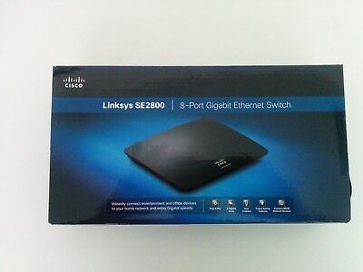 Cisco/Linksys - SE2800, Gigabit Switch NEW