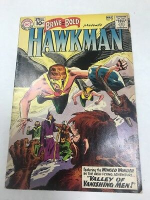 THE BRAVE AND THE BOLD #35 2ND SILVER AGE HAWKMAN & HAWKGIRL Batman Superman