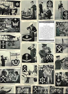Full Set 48 The Navy The Navy At Work The Navy 80Yrs  Cigarette Cards