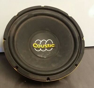 """Coustic Bass Pump 12"""" Car Subwoofer BP124 (LOCAL PICK-UP ONLY)"""