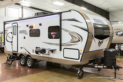 New 2018 25FBLS Micro Lite 2 Slide Out Light Weight Travel Trailer Camper Sale
