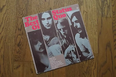 Status Quo - The best of, German Pye records 88015ET VG/VG