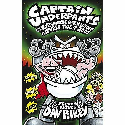 Captain Underpants and the Tyrannical Retaliation of the Turbo Toilet 2000-H002