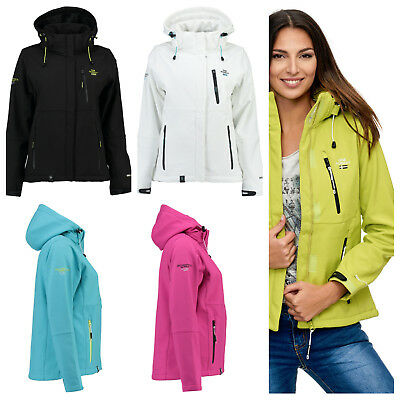 GEOGRAPHICAL NORWAY Damen Softshelljacke Tehouda Softshell Jacke Outdoor S - XXL