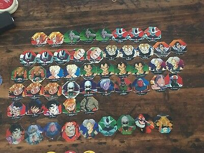 Assorted Old School Tazo (dragon Ball Z/ Simpsons/looney Tunes/space Jam +more