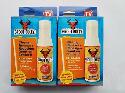 Wholesale Job Lot 24 x Tan Grout Bully Liquid Grout Cleaner As seen On Tv