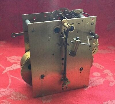 H A C German  Clock Movement Clean Movement  For Spares Or Repair