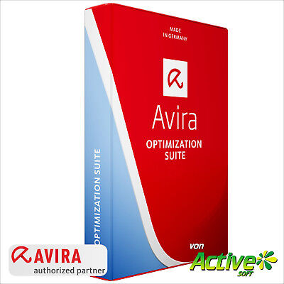 Avira OPTIMIZATION SUITE 2019 2 PC 1 Jahr | Internet Security Suite | DE-Lizenz