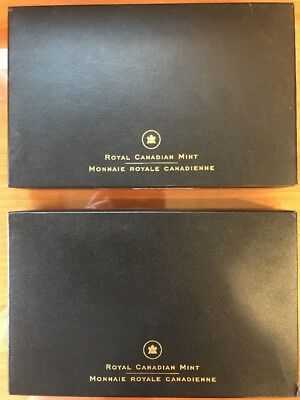 2005 Royal Canadian Mint Proof & Specimen Sets original boxes and COA