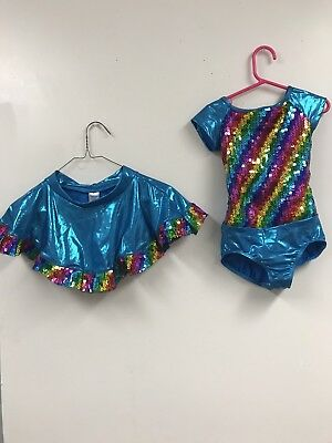 Theatrical Costumes Dance Dress Tap Jazz  Size Chid Small