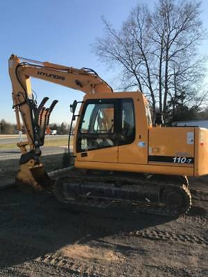 Hyundai Robex 110-7 Excavator (270 Hours) *Practically New*