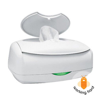 BABY WIPE WARMER Prince Lionheart Ultimate Antimicrobial Diapering Wipes Warming