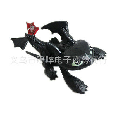 How to Train Your Dragon Toothless Night Fury pvc Toy Doll Teddy