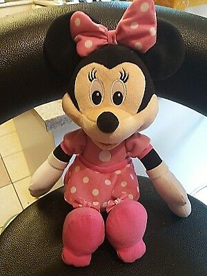 Singing Minnie Mouse Plush Toy(sings Hot Dog)14""
