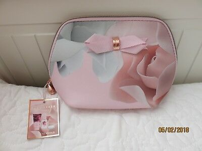 TED BAKER Beauty To Behold Cosmetic Bag With 3 Items *BNWT* Mothers Day Gift