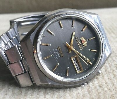 ORIENT Crystal - OS469C259 - Automatic Day/Date Herrenuhr 37 mm Japan ca. 1978