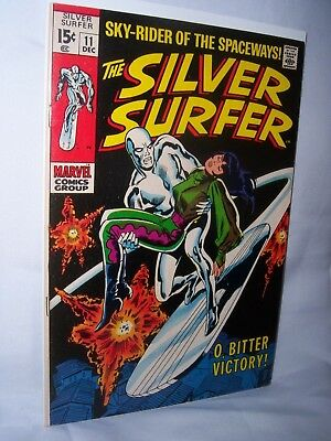 The  Silver  Surfer   #11   ( Dec  1969,  Marvel )