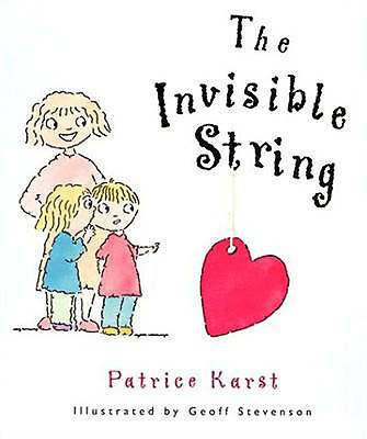 """NEW"" Invisible String Hb, Patricia Karst Book"