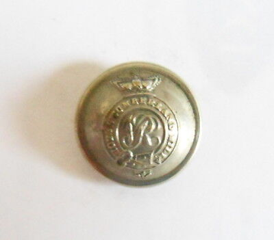 Royal Cumberland Militia Other Ranks Tunic Button