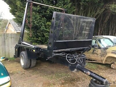 tipping trailer skip farm