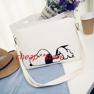 Fashion Snoopy Peanuts Women Girl Purse Clutch Wallet Card Holder Invoice Case