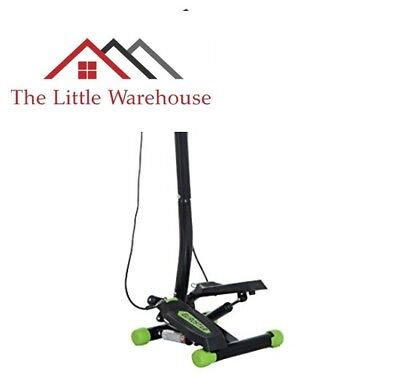 HOMCOM Mini Stepper with Handle Workout Fitness Machine Pulling Rope Sport Exerc