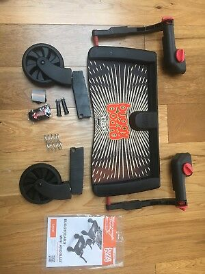 Lascal Buggy Board Maxi used red and black