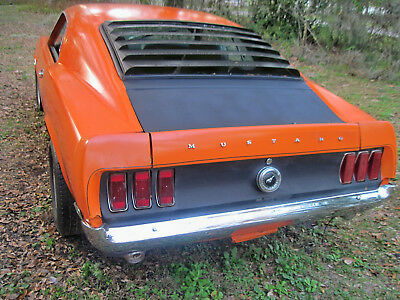 1969 Ford Mustang  1969 custom Boss 302 Fastback tribute with 331 performance STROKER engine.