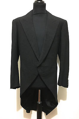 cult vintage '60 Mantel Frack tait Herren Smoking tuxedo man Mantel SZ. xl - 52