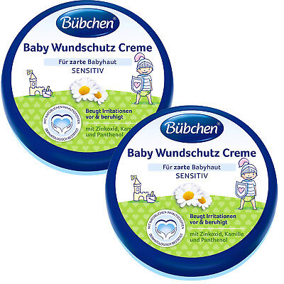 (31,63 €/ L) 2x 5.1oz Bübchen Baby Wound Cream with Sunflower Oil and Chamomile