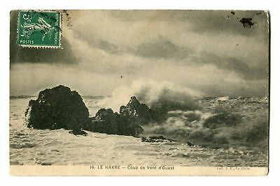 CPA-Carte postale-France - Le Havre - Mer -1908 (CP97)
