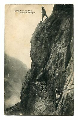 CPA-Carte postale-France - Les Alpes - Ascension d'un pic - 1904 (CP98)