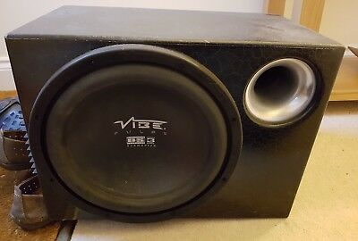 vibe sub woofer with amplifier