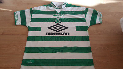90s Celtic Home Shirt (97/98) - Large - Perfect condition UMBRO