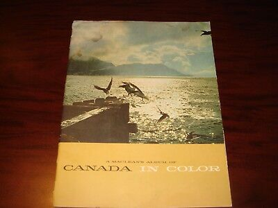 "MacLean's Portfolio of Photographs ""Canada in Color"""