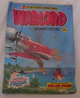 Warlord Comic 1980 Summer Special