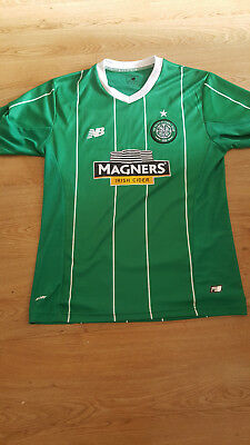 Celtic FC Away Shirt - New Balance Adults Size Medium - Superb condition