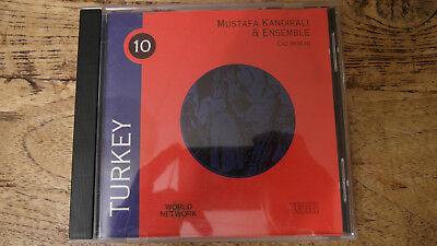 Mustafa Kandirali & Ensemble - Caz Roman CD Turkey