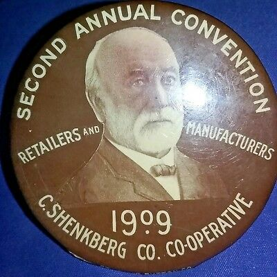 Retailers & Manufactures 2nd Convention,1909, C.SHENKBERG CO. Sioux City,Iowa