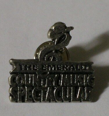 The Emerald Country Music Spectacular Metal Badge,the Emerald Country Music