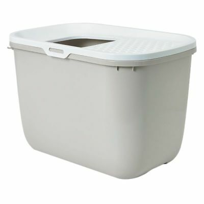SAVIC HOP In Litter Box With Top Entry And Cover Cats Litter Tray