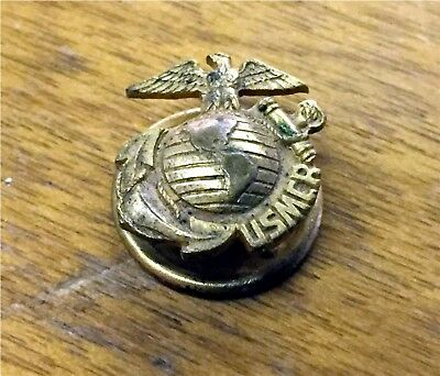 Wwii Usmcr United States Marine Corp Reserve Lapel Pin Button
