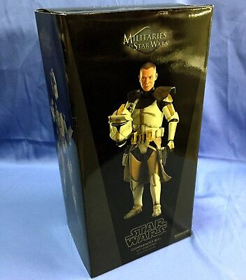 Sideshow Star Wars CLONE COMMANDER BLY 327th Star Corps Sixth Scale 1/6 COMPLETE