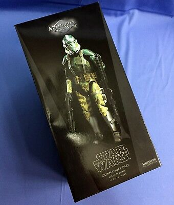 Sideshow Star Wars CLONE COMMANDER GREE Elite Corps Sixth Scale 1/6 COMPLETE