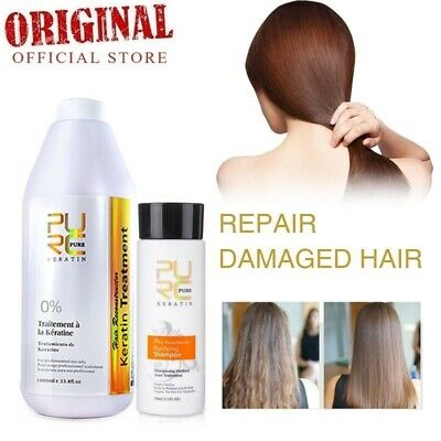 Brazilian Keratin Free Formaldehyde 1000ml Hair Straightening Treatment Repair