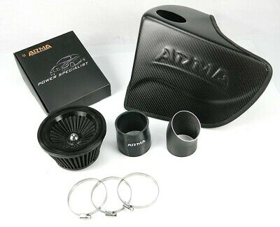 ARMA Hyper-Flow Matt-Carbon Air-Intake-System, Airbox, Sportluftfilter-Set / Kit