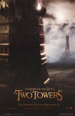 Lot Of 2 Posters : Movie Repro: Lord Of The Rings - The Two Towers  #3560  Rc3 T