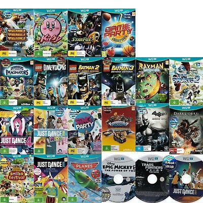 🧐 NINTENDO WII U ●● AWESOME TITLES! **AS OR NEAR NEW** ●● Your Choice 24/02/18