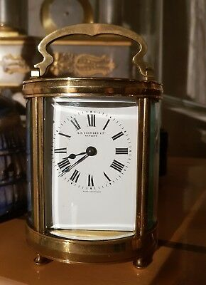 Antique carriage clock by DUVERDREY & BLOGUEL